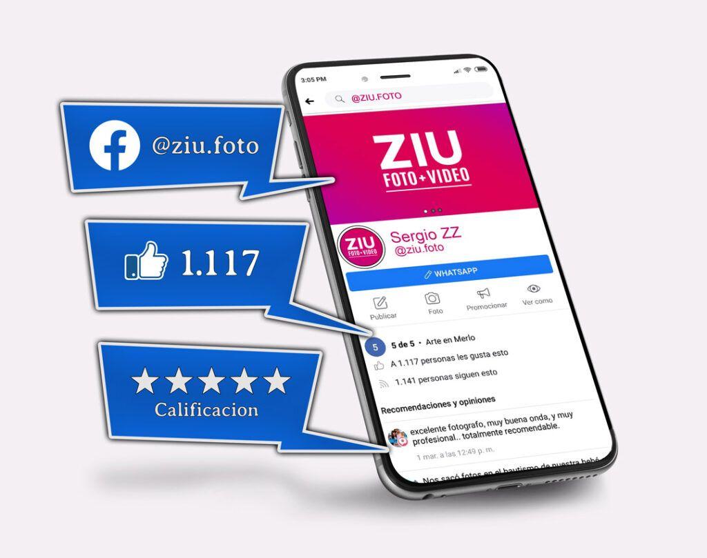 Facebook de ZIU Foto